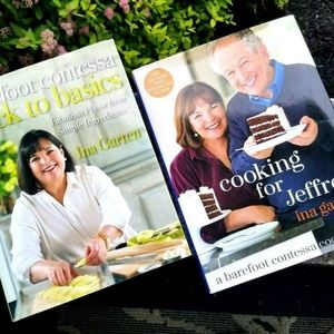 2 New Barefoot Contessa Ina Garten Cookbooks